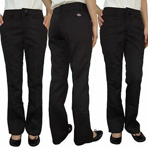 Image is loading NEW-Dickies-Juniors-Womens-School-Work-Uniform-Black- fdcbfc9657