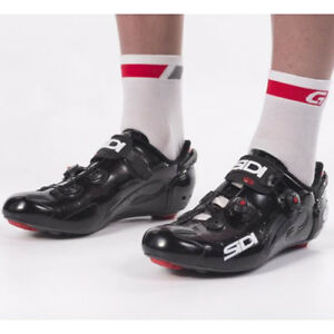 New-SIDI-WIRE-Carbon-Road-Bike-Cycling-Shoes-Black-Black-EU39-46