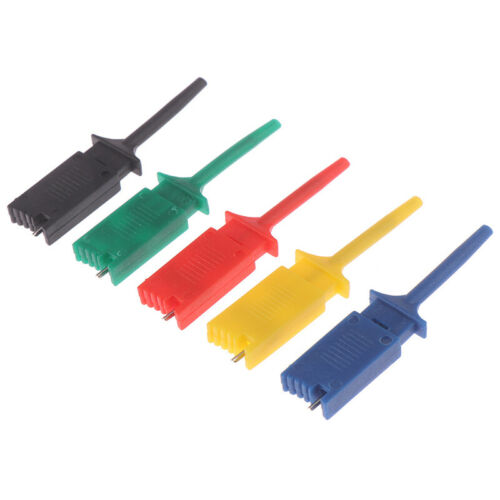 5x//set Meter Tester Leads Test Probe Hook For SMD IC Test Cilps SMD IC Hoos4