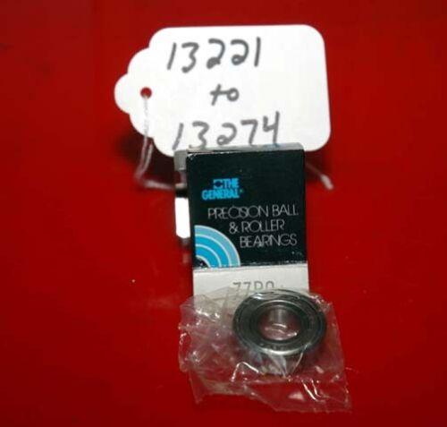 Inv.13221 General Precision Ball /& Roller Bearings Model 77R8
