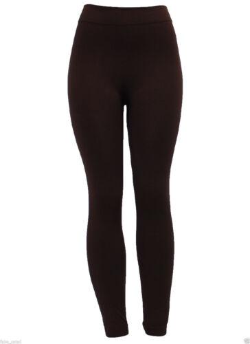 Women/'s Elasticated Waist Thermal Leggings