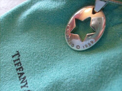 Tiffany & Co.Star Stencil Sterling Silver Necklace