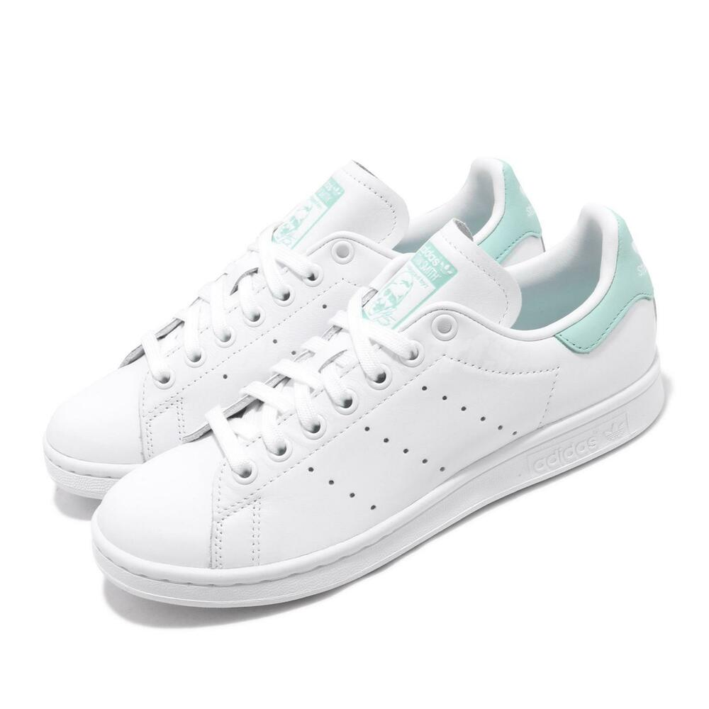 Marque Populaire Adidas Originals Stan Smith W White Mint Women Casual Shoes Sneakers Ef9318 Activation De La Circulation Sanguine Et Renforcement Des Nerfs Et Des Os