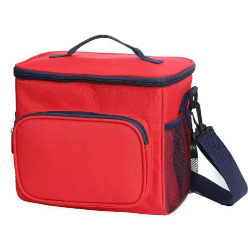 Insulated Lunch Bag Thermal Cooler Picnic Box for Work School Men Women Kids  L
