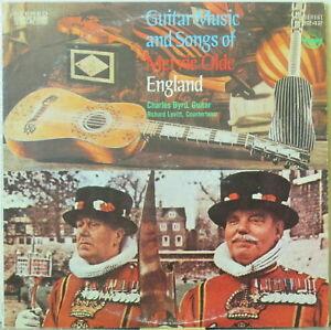 CHARLES BYRD/Richard LEVITT Guitar Music & Songs of Merrie Olde England LP Folk