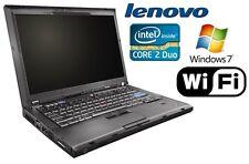 Lenovo Thinkpad T400 Intel P8600 2x2,4GHz 4GB 120GB QWERTY Windows 7 14,1 Zoll