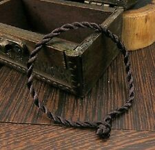 """Black Lucky Bracelet Rope Bangle Luck Bracelets UK Seller 7.5"""" 20cm Long B16"""
