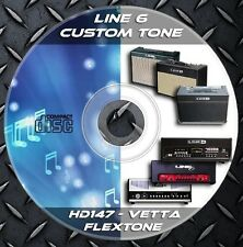 76.000 Patches Line6 Flextone II-III-II HD (HEAD)-HD147-Vetta Custom Tone Preset