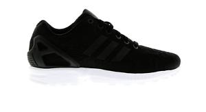 acheter populaire af8ee 7d1ed Détails sur Femmes Adidas Zx Flux W Floral Noir Baskets Ba7478