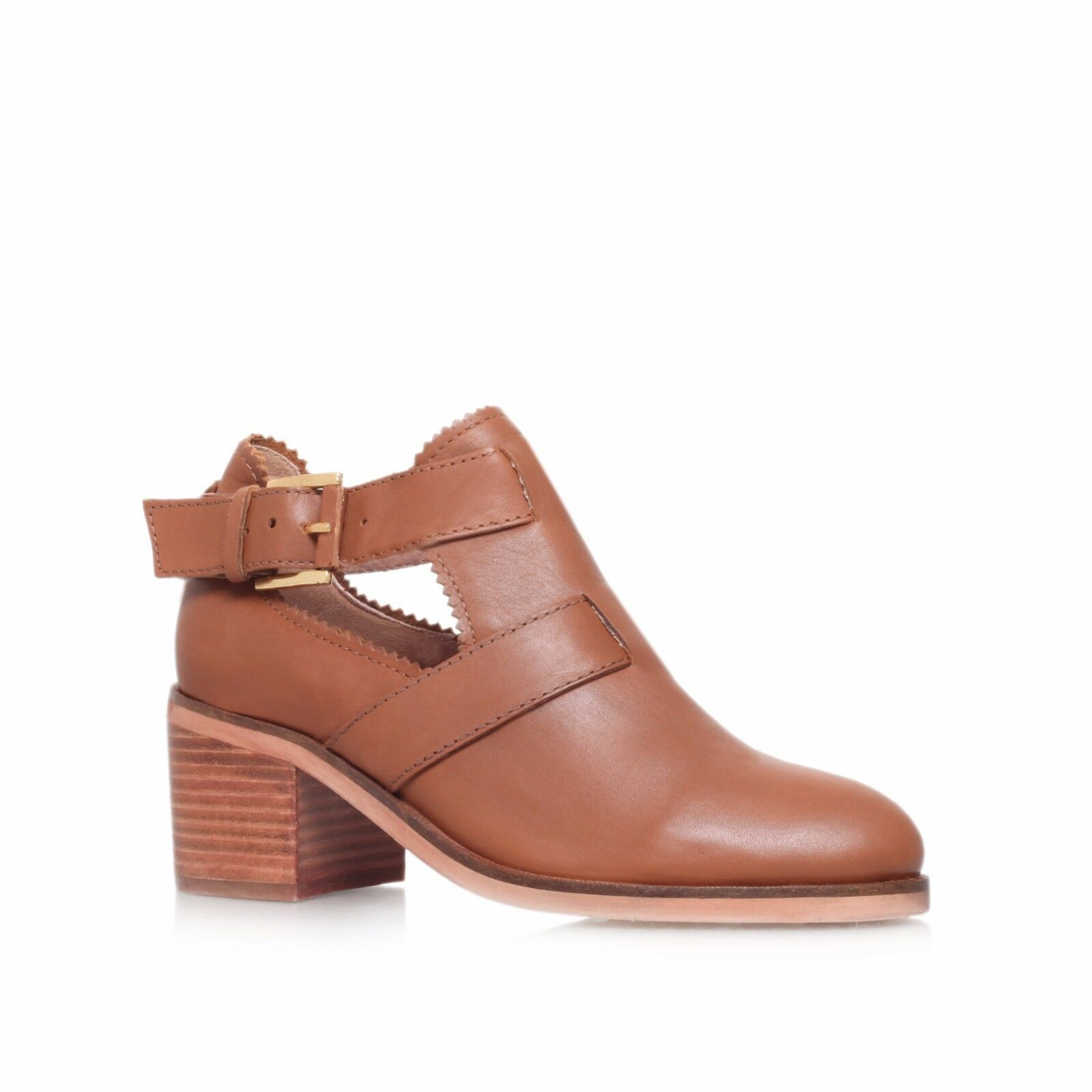Carvela Serena Tan Leder Ankle Stiefel UK 3 EU 36 JS44 22