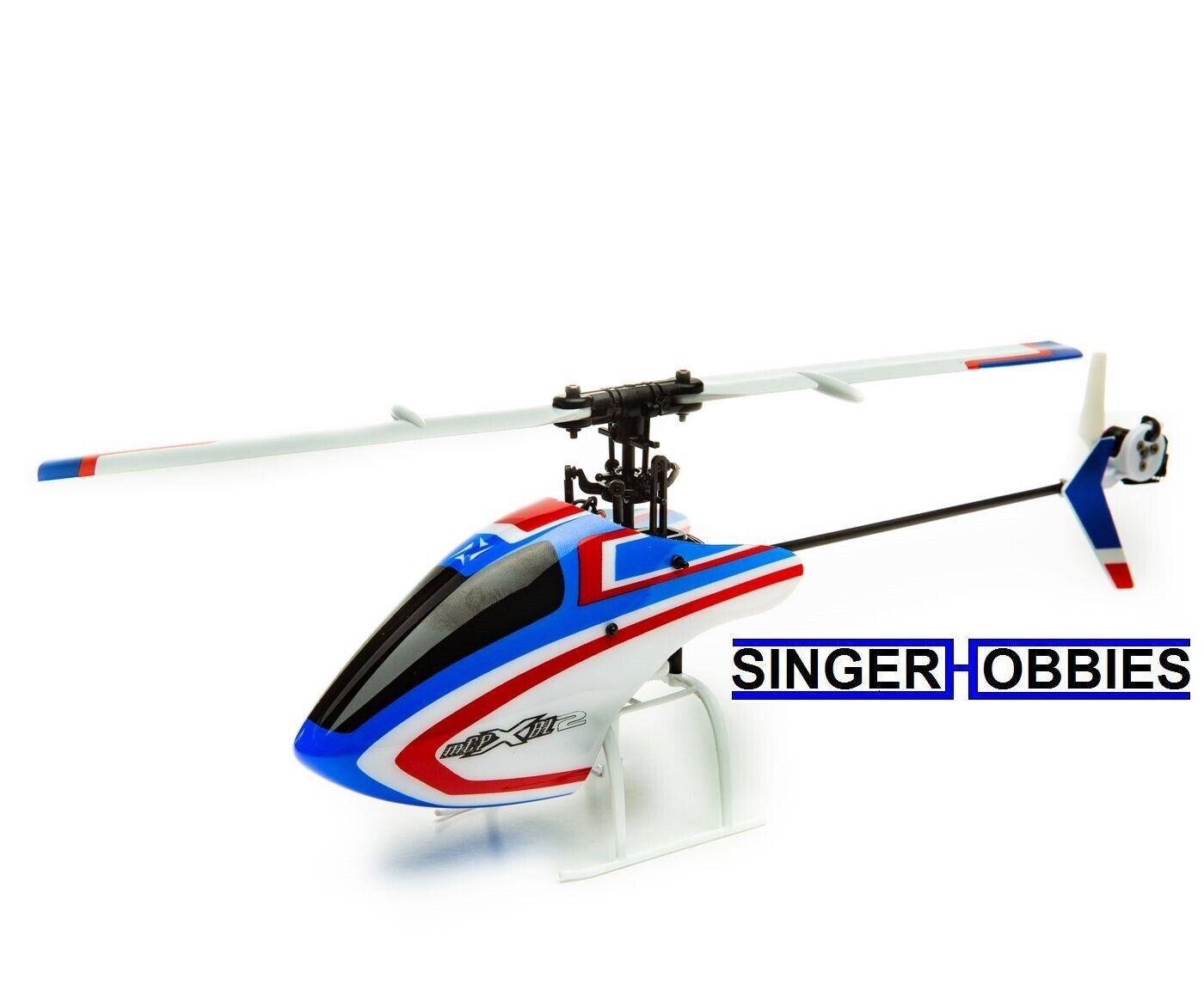 E-Flite mCPX BL2 BNF Basic RC helicóptero con Tech BLH6050 HH SAFE