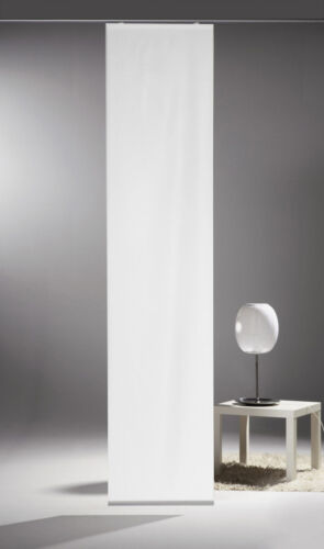 Limbo Flächenvorhang Schiebevorhang bedruckt Seidenoptik 60 x 260 cm uni bunt