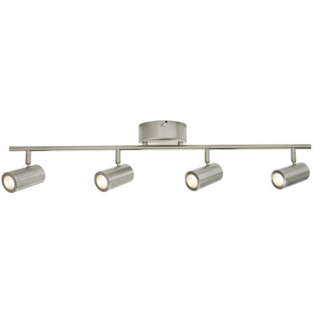 Hampton Bay 4 Light Brushed Nickel Integrated Led Directional Track Lighting