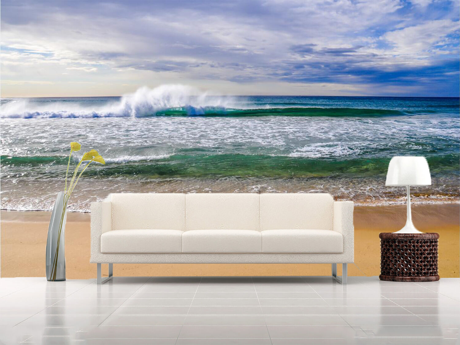 3D Sky wave 3655 Wall Paper Wall Print Decal Wall Deco Indoor Wall Murals