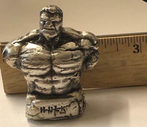 "10 Ozt  MK BarZ /""The Hulk/"" 2 Part Cast Hand Poured .999 Fine Silver"