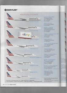 American Airlines Inflight Magazine American Way 8 2016