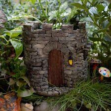 Miniature Fairy Castle Functional Flower Pot  Planter /Fairy Gnome Garden 4286