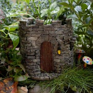 Image Is Loading Miniature Fairy Castle Functional Flower Pot Planter Fairy