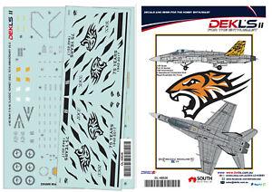 1-48-F-A-18-Hornet-RAAF-2-OCU-75th-Anniversary-Decal-DEKL-039-s-II