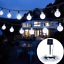 thumbnail 14 - 21FT-Outdoor-String-Lights-30-LED-Solar-Bulb-Patio-Party-Yard-Garden-Wedding-Lot