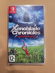 NEW Xenoblade Chronicles Definitive Edition Nintendo Switch Multilingual