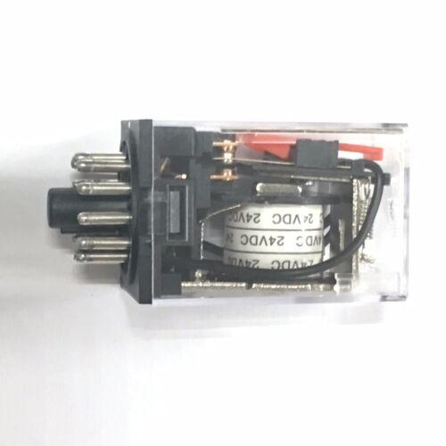 MK3P-I MK3P MK3P DC 24VDC  24V Relay 11 Pin 10A 250VAC
