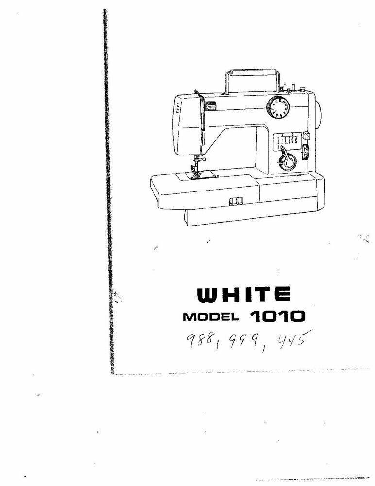 Singer 7029-7033-7035-9410 Sewing Machine Owners Manual Reprint