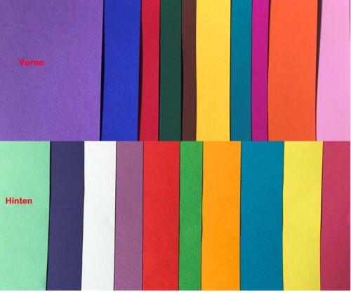 Ursus bastelkarton duo argile CARTON DOUBLE FACE différemment colorés 50 x 70 CM