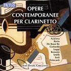Werke für Klarinette von Jos Daniel Cirigliano (2014)