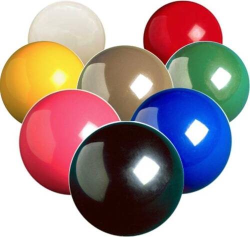 Spare Aramith Snooker Balls - Size 2 1/16 (Full Size) - All Colours