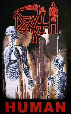 "DEATH FLAGGE / FAHNE ""HUMAN"" POSTERFLAG"