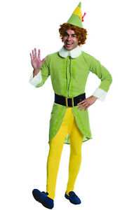 Brand New Buddy the Elf Holiday Christmas Men Adult Costume