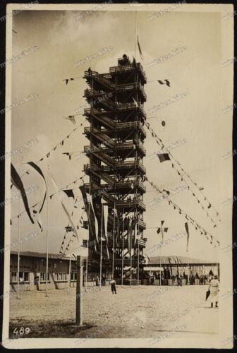 Foto-AK-Stuttgart-Deutsches-Turnfest-Stadion-Turm-Architektur-1933