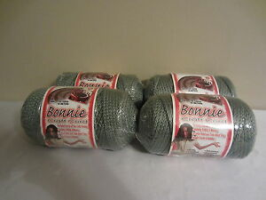 Lot of 4 rolls of Sage Green 4mm Bonnie Braid Braided Macrame Craft Cord 400yds