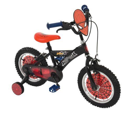Spiderman 14 Inch Bike Black//Red MV Sports Ages 3 Years+