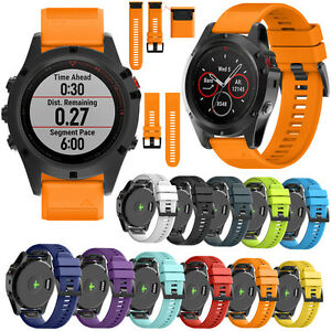Quick-Release-Watch-Band-Wrist-Strap-Replacement-For-Garmin-Fenix-5X-3-3-HR26mm