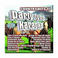 Party Tyme Karaoke - Country Hits 15 [16-song Cd+g] Free Shipping