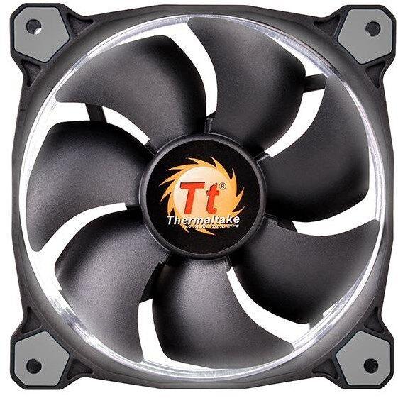 Thermaltake Riing Single 140mm White LED SP Fan[CL-F039-PL14WT-A]