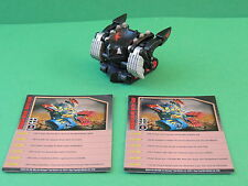 Bakugan Axellor dark black darkus mobile assault vehicle Mechtanium Surge S4