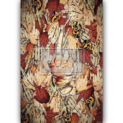 New Pouya Suicide Boys Silk Poster Custom Wall Decor