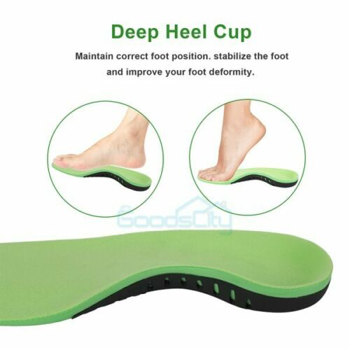 Orthotic Shoe Insoles High Arch Support Inserts for Plantar Fasciitis Flat Feet