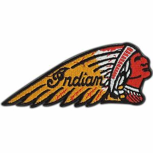 native american indian chief biker tattoo rocker iron on patch jacket