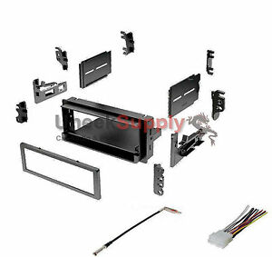 Radio Mounting Stereo Install Installation Single Din Aftermarket Dash Kit Wire