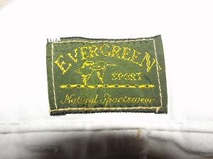 Evergreen-Men-039-s-Dress-Shorts-in-size-36-Pre-owned-White