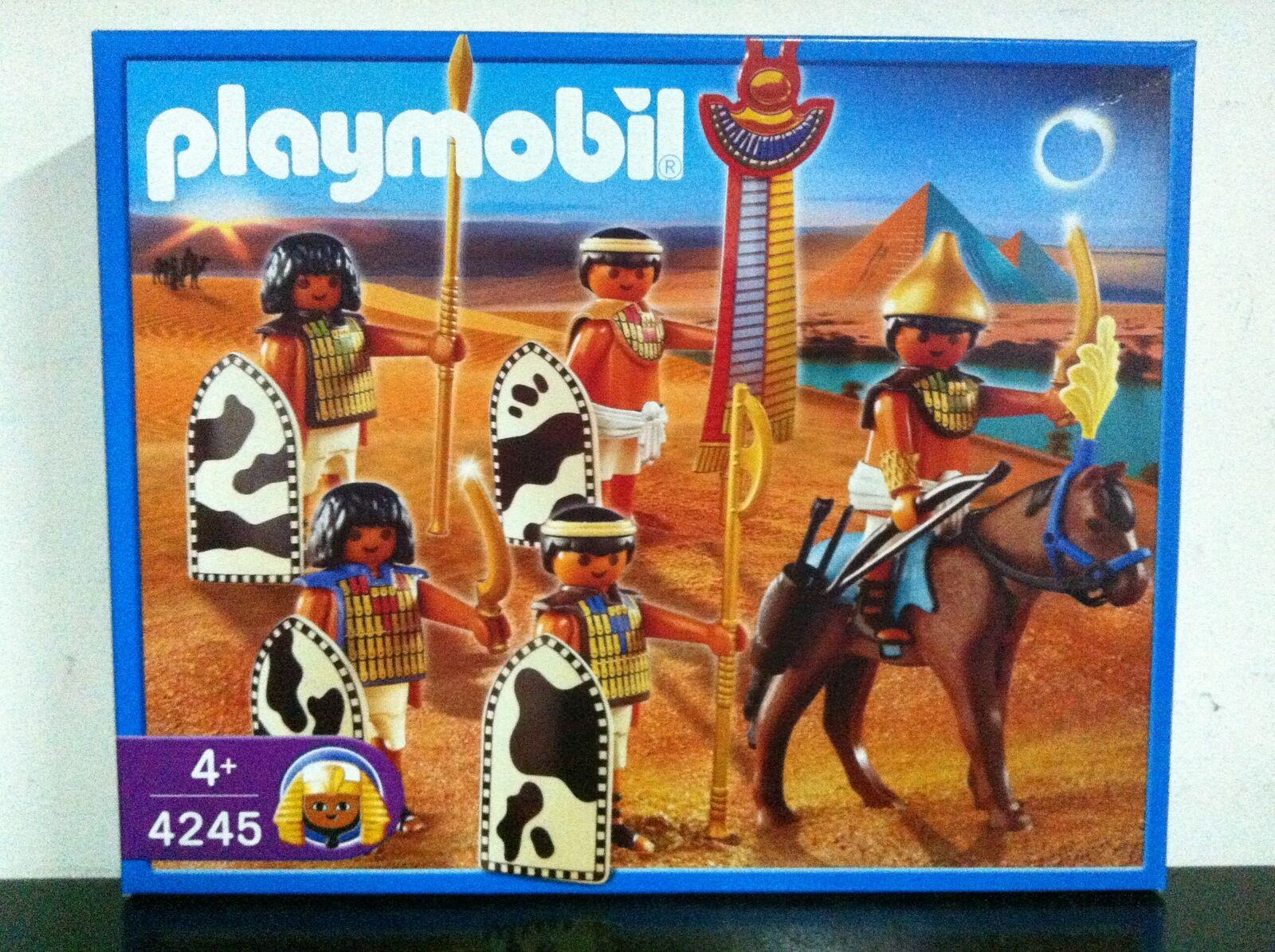 Playmobil Egiziani 4245 SOLDATI   GUERRIERI MIB, 2007
