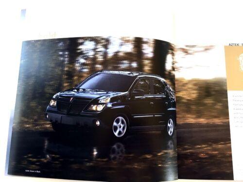 2004 Pontiac Aztek 32-page Original Car Sales Brochure Catalog