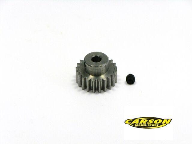 23 Z/ähne Motorritzel M 0.6 Stahl Carson 500013431