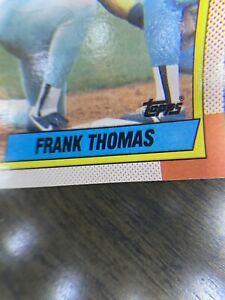 MINT-ERROR-Double-Printed-Name-1990-Topps-Frank-Thomas-ROOKIE-Baseball-Card-414