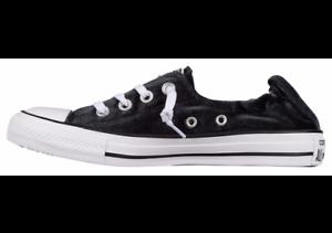 2114bb828556 Women s Converse All Star Shoreline Slip On Sneaker Blk 559358F Sz ...