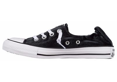 Women's Converse Shoe Black Sneaker Shoreline Slip On All Star Sz 6.5 10 NIB | eBay
